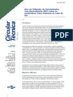 Embrapa - Efeitos da Utilização da Somatotropina
