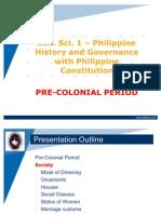 Soc. Sci. 1 - Unit 1 - Pre Colonial