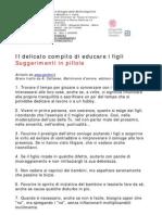 Il Delicato Compito Di Educare i Figli - 30 Utili Consigli