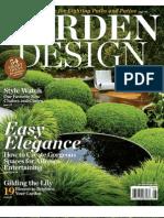 Garden Design July August 2011