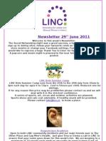 Newsletter 29th June 2011
