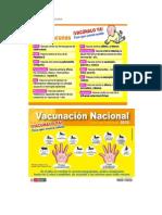 CRONOGRAMA DE VACUNA