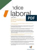 38º Índice Laboral ManpowerGroup (junio 2011)