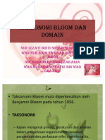 PRESENT ESK (Taksonomi Bloom)