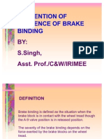 Brake Binding Prevention