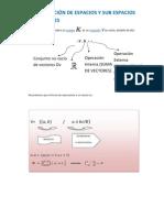 4.1.DEFINICION DE ESPACIOS Y SUBESPACIOS VECTORIALES