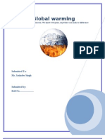 Report for Global Warming