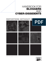 Handbook For Blogger And Cyber-Dissidents