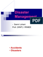 Disaster Management IRTS PWMT