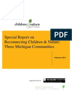 Special Report on Reconnecting Children & Nature