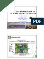 Presentación Arándanos Argentina SQM Abril 2009