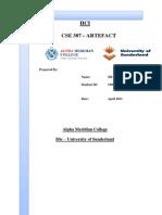 CSE307 – ARTEFACT