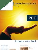 Meroni comunicare - Brochure Istituzionale 2011