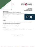 Solicitud de aparcabicis para los frontones de Lakua (14/2011)