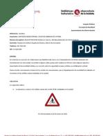 Inventario de señales de bicicletas (16/2011)