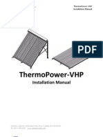 Installation Manual - ThermoPower-VHP