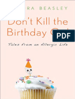 Don't Kill the Birthday Girl by Sandra Beasley - Excerpt