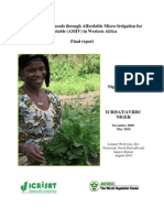 ICRISAT AVRDC Niger Final Report AMIV Final 280910-2