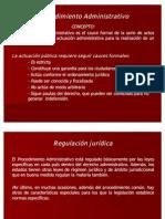 Presentación PROCEDIMIENTOS ADMINISTRATIVOS