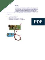 9 Volt FM Transmitter Kit