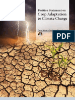 Crop Adaptation to Climate Change Policy Statement