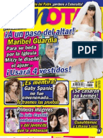 Revista TV Notas -julio 2011