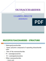 mucopolysaccharides