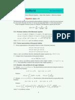 Bi Harmonic Equation