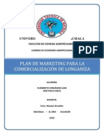 Plan de Mercadeo Longaniza Final