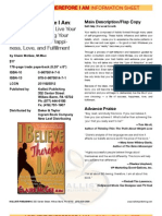 I Believe Therefore I Am by Claire McGee Fact Sheet