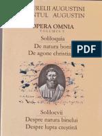 Sfantul Augustin V. Solilocvii. Despre natura binelui. Despre lupta crestina