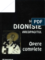 Sfantul Dionisie Areopagitul - Opere Complete