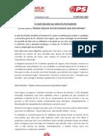 COMUNICADO Antonio Jose Seguro em Paredes