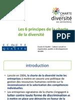 Les 6 articles de la charte de la diversité - Ecoute et Qualité