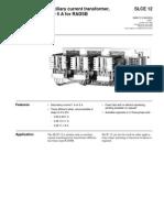 1mrk513008-Ben en Auxiliary Current Transformer 1 or 5a for Radsb Slce 12