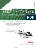 Fujistu Fi-6x70 Datasheet
