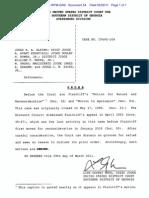 Order Denying Motion to Apologize, Washington v. Alaimo, et al., S.D.Ga. No. 6:95-cv-00104-WTM-GRS
