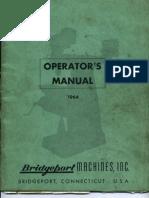 Bridge Port Operators Manual