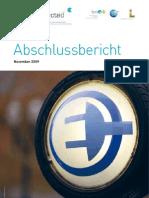 Initiative für Elektromobilität und nachhaltige Energieversorgung - Abschlussbericht 2009