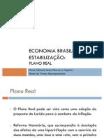 Economia Brasileira pós estabilização
