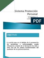 Capacitación Sistema Protección Personal