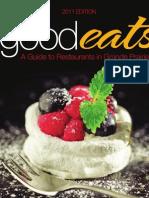 GoodEats - A Guide to Restaurants in Grande Prairie (2011)