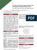 Determin de Nitrito Nitrato e Amonio