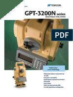 TOPCON GPT-3200N