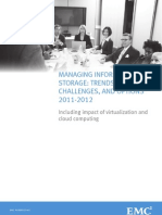 Managing Storage Trends Challenges and Options 2011 2012