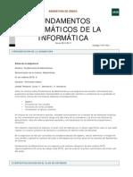 Fundamentos Matemáticos de la Informática