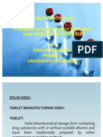 Pharmaceutical Production Area & Production Processes by Khalid