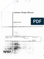 NASA Fastener Design Manual