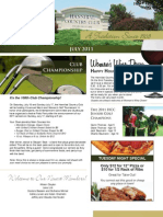 Hannibal Country Club July 2011 Newsletter