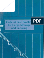 Code of Safe Practice for Cargo Stowage and Securing[1]